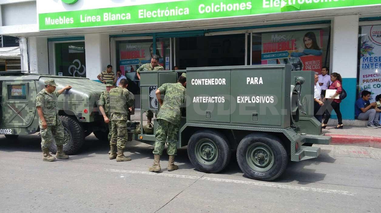 Alerta Por Amenaza De Bomba En El Centro # Muebles Tuxtla Gutierrez Chiapas