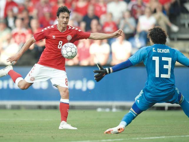 México cierra preparación con derrota ante Dinamarca