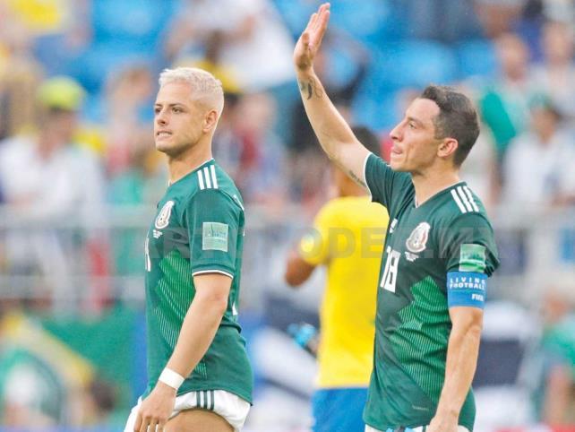Brasil manda a México a su casa