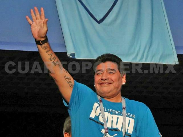 Maradona es nuevo técnico de Dorados