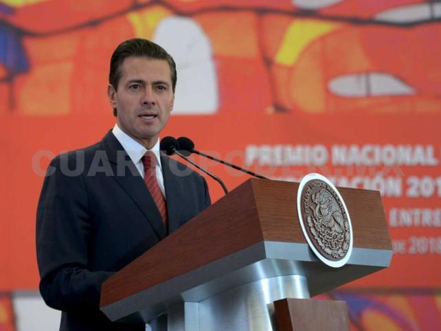 México avanza como potencia exportadora: EPN