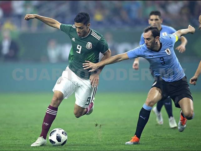 México pierde ante una competitiva Uruguay