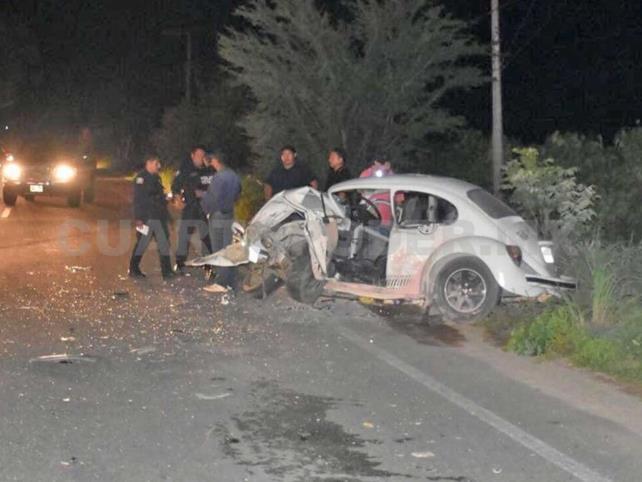 Un muerto en choque de automóviles particulares