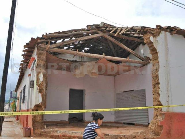 Viviendas dañadas por sismo, aún sin ser reparadas
