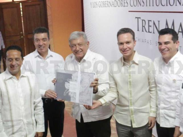 Chiapas agradece a AMLO por el tren maya