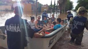 Evalúan daños tras lluvias en Sinaloa