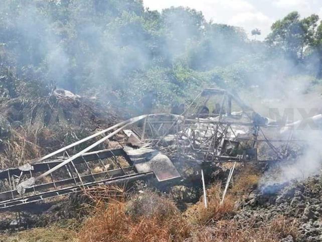 Se desploma avioneta; el piloto fue hospitalizado