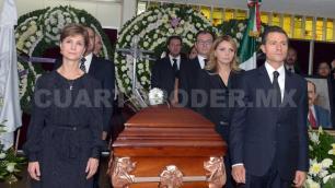 Expresa EPN condolencias a familia de Lerdo de Tejada