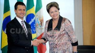 Rousseff se encontrará con Peña