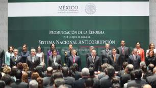 Ley anticorrupción, un paso histórico: Peña Nieto
