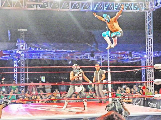 Triple A y CMLL vienen a Tuxtla