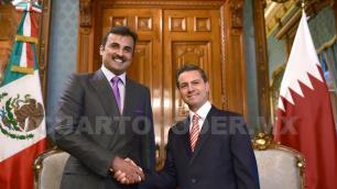 Fortalecen México y Qatar, vínculos y cooperación