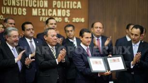 EPN: Constitución, pilar de instituciones democráticas