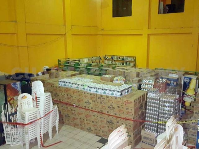 Clausura PGJE 22 cantinas en Pueblo Nuevo