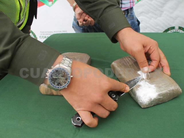 Asegura PGR 45 kilos de cocaína en Suchiate