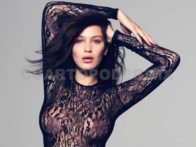 Bella Hadid Posa Desnuda Para Vogue