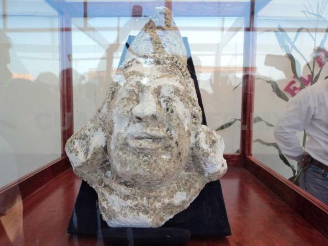 INAH entrega bajo custodia pieza maya a ciudadano