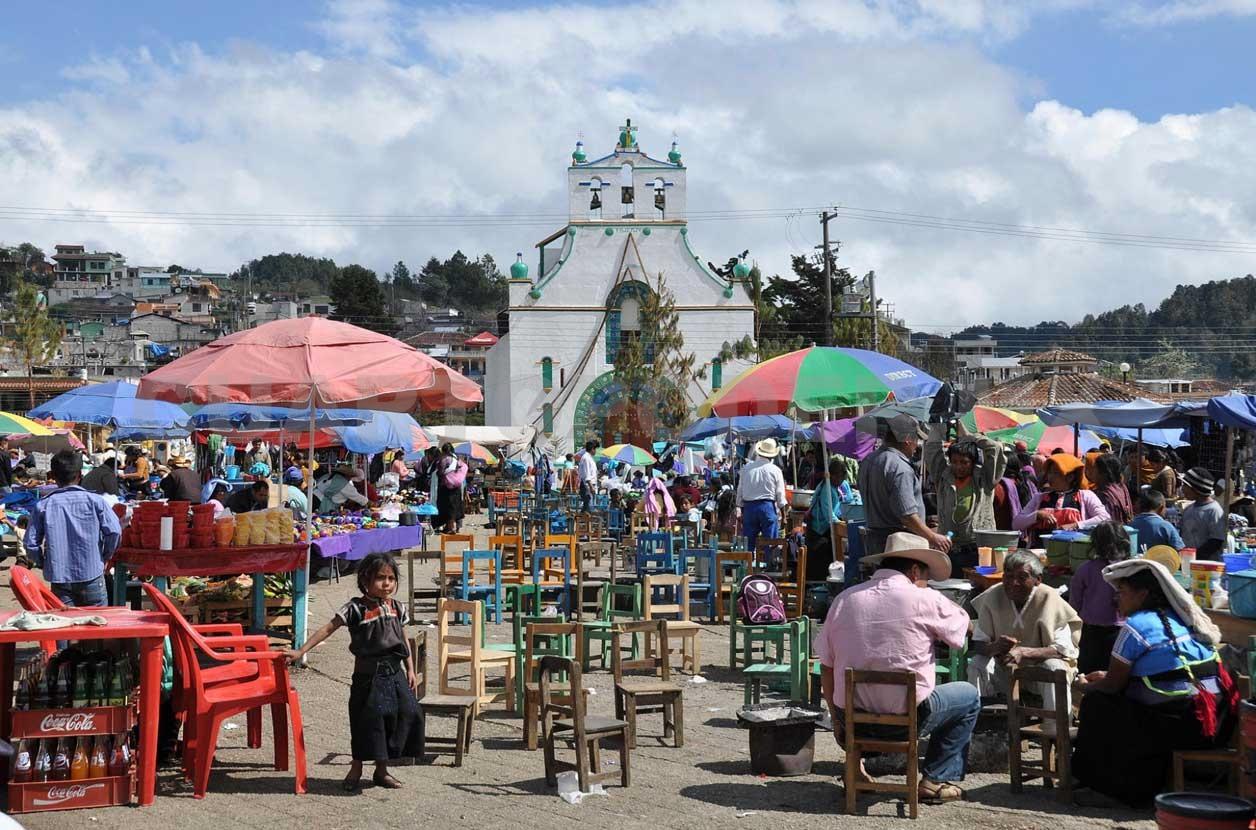 Celebran a San Lorenzo, patrono de Zinacantán