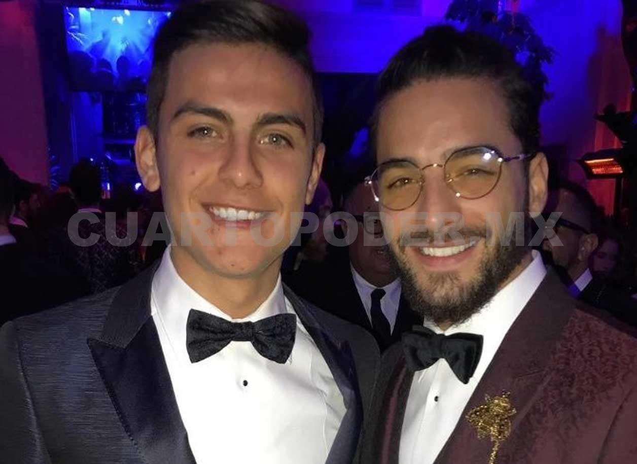 Este fin de semana Maluma debutó como modelo y también cantó en el desfile de  Dolce   Gabbana en Italia. Ahí conoció al delantero de la Juventus Paulo ... 4da63a08fe
