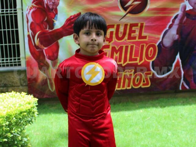 Emilio cumplió 7 años