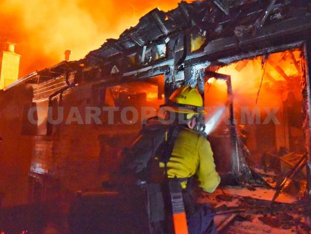 Incendios dejan un muerto y arrasan 40 edificaciones