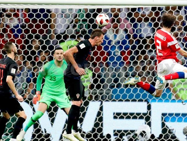 Pénaltis ponen a Croacia en semifinales