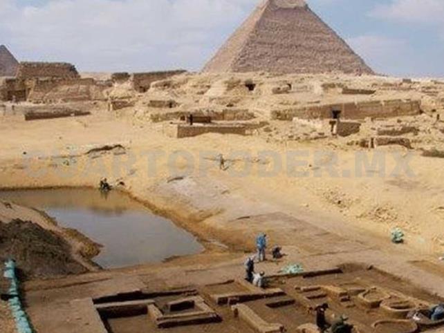 Descubren casas de cocineros egipcios