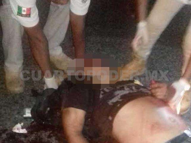 Muere motociclista al impactar a un canino