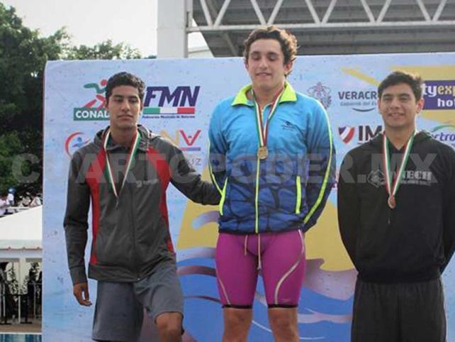 Ricardo Hernández, bronce en el Nacional