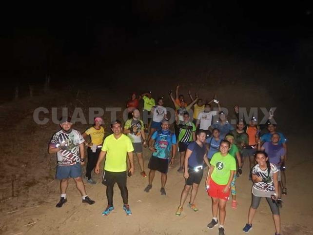 Invitan al 129 Trail Nocturno en Chiapa