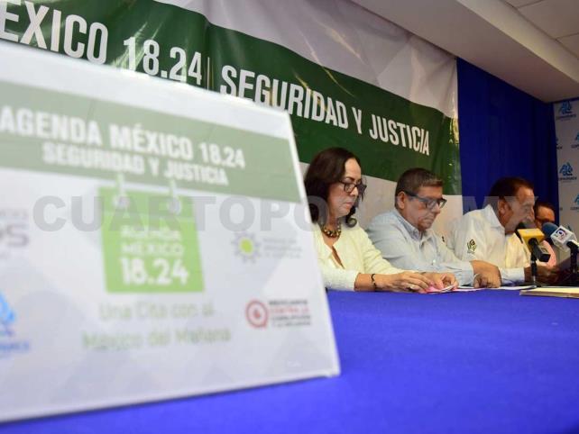Presentan agenda México 18.24