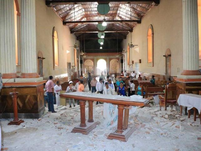 Reconstrucción de templos concluirá hasta el 2020
