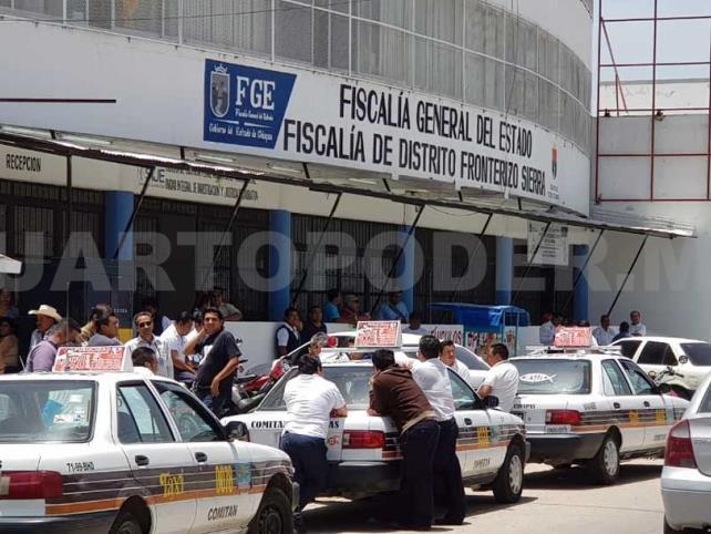 Transportistas realizan reclamos ante la fiscalía
