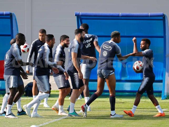Francia empieza a preparar la final
