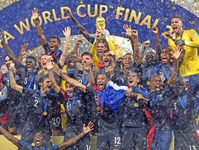 Francia campeona du monde