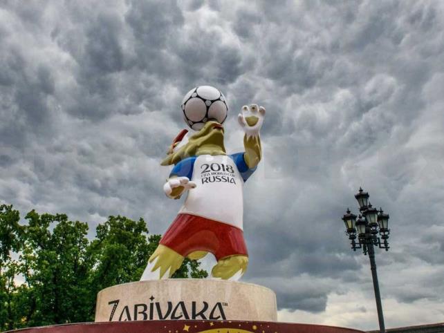 Roban en Rusia una estatua de la mascota del Mundial