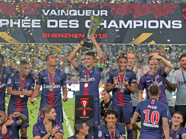 PSG gana Supercopa al vencer a Mónaco