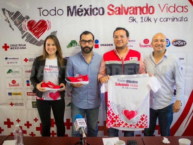 Presentan carrera Todo México Salvando Vidas