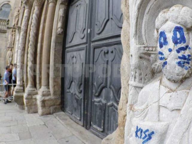Investigan para encontrar a autor de vandalismo
