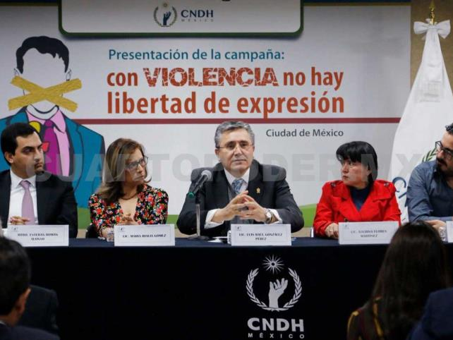 Lanzan campaña contra violencia a periodistas