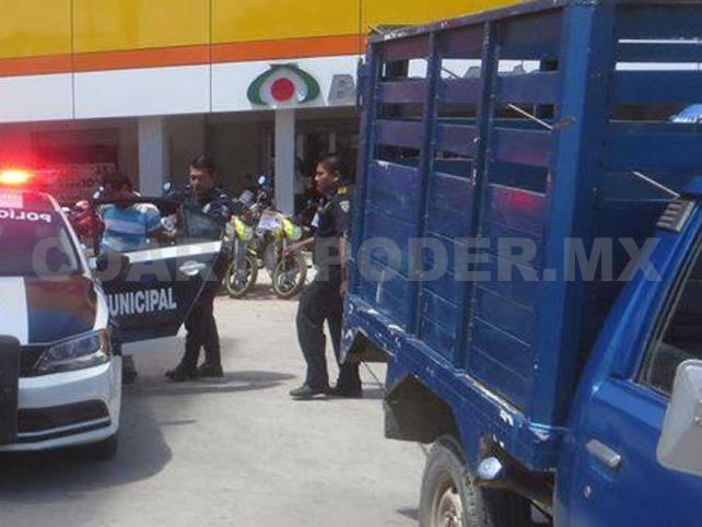 Atrapan a ladrón en flagrancia en Tonalá