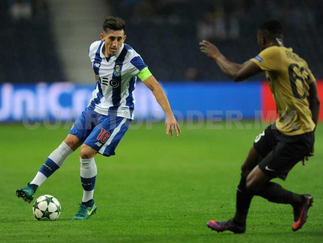 Porto, Herrera y Corona se miden con Guimarães