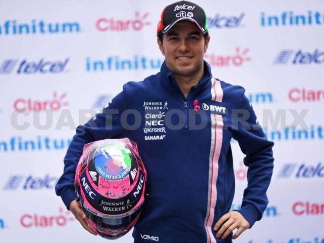 """Sergio Pérez se dijo """"contento"""" con resultado"""