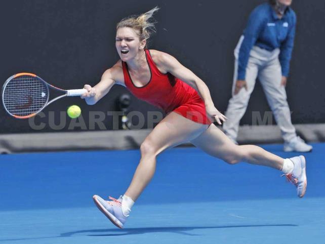 Simona Halep cae en primera ronda en EUA