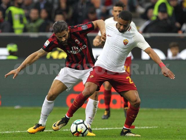 Milán va por su primer triunfo contra Roma