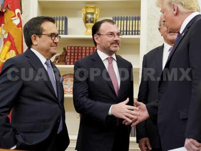 EUA notifica firma de acuerdo con México