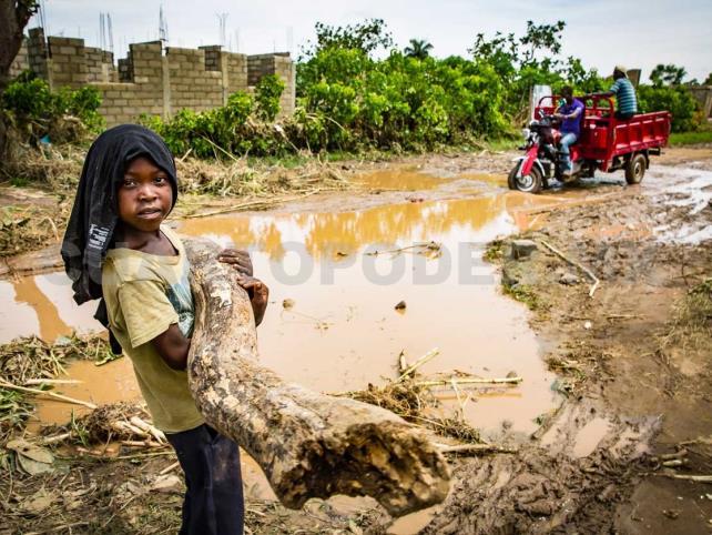 Niños, los más afectados por eventos meteorológicos