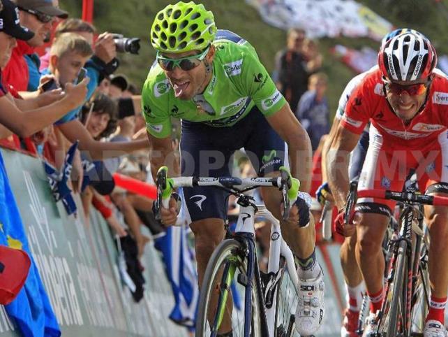 Valverde se impone en octava etapa