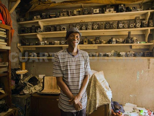Sidibé documentó con su cámara la vida en Mali