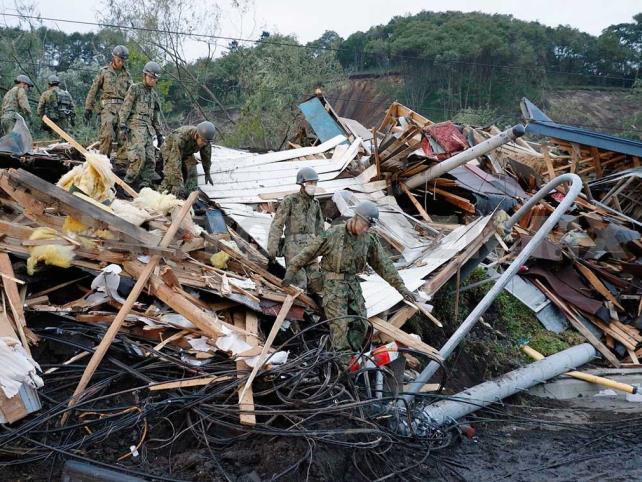 Nueve muertos y más de 300 heridos por sismo en Japón